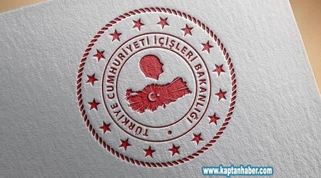 İçişleri Bakanlığı 81 İl Valiliğine