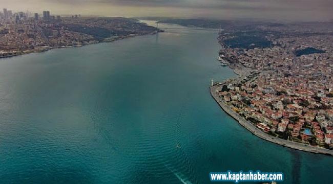 İstanbul Boğazı'nın Sessizliği Havadan Görüntülend