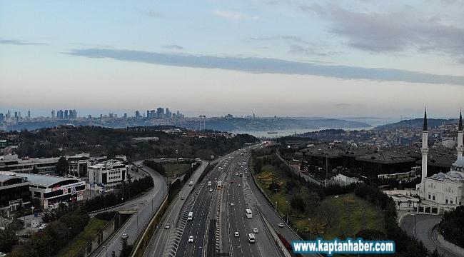 İstanbul trafiğine 'korona virüs' etkisi