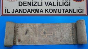 Jandarma ceylan derisine yazılmış 500 yıllık İncil yakaladı