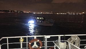 Kızkulesi açıklarında sürüklenen tekneyi Kıyı Emniyeti ekipleri kurtardı
