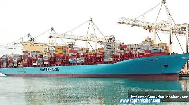Konteyner gemisi Gjertrud Maersk'da mürettebatın korona virüs testleri pozitif çıktı