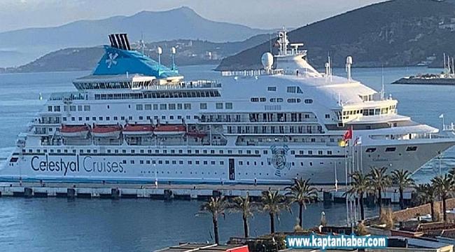 Kuşadası Limanı'da korona virüs tedbirleri artırıldı