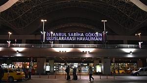 Sabiha Gökçen Havalimanı'nda tüm uçuşlar durduruluyor