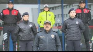 """Trabzon Emniyeti'nden 'EvdeHayatVar"""" paylaşımı"""