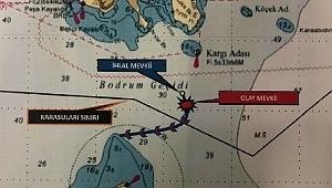 Türk karasularına giren Yunan botu, Sahil Güvenlik ekipleri tarafından uzaklaştırıldı