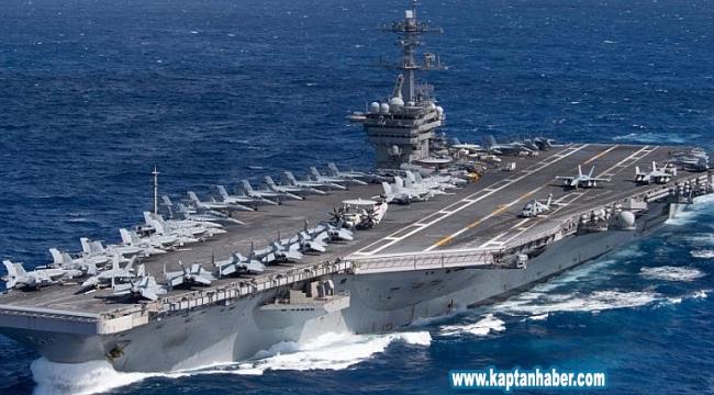 ABD, USS Theodore Roosevelt uçak gemisinden 2 bin 700 askerini tahliye ediyor