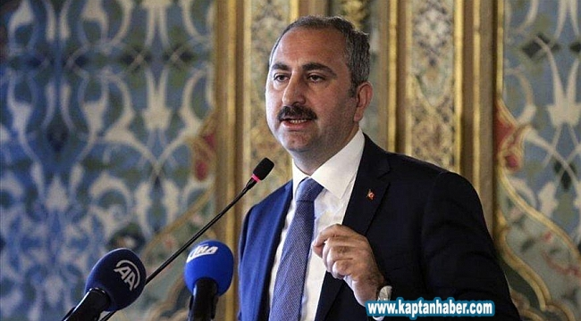 Adalet Bakanı Abdulhamit Gül Tarafından Covid-19 Açıklaması
