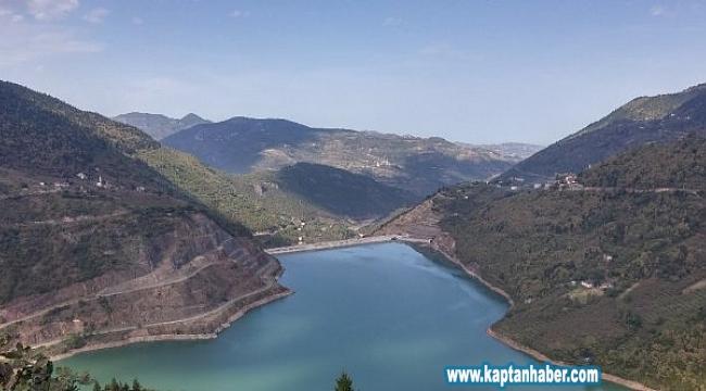 Atasu Barajı'ndaki doluluk oranı yüzde 100 seviyesine ulaştı