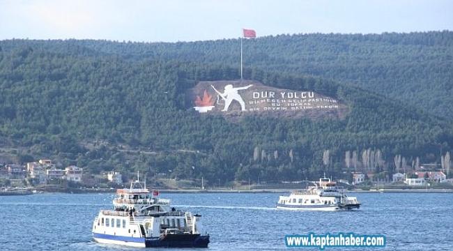 Boğaz hattındaki bazı feribot seferleri iptal edildi