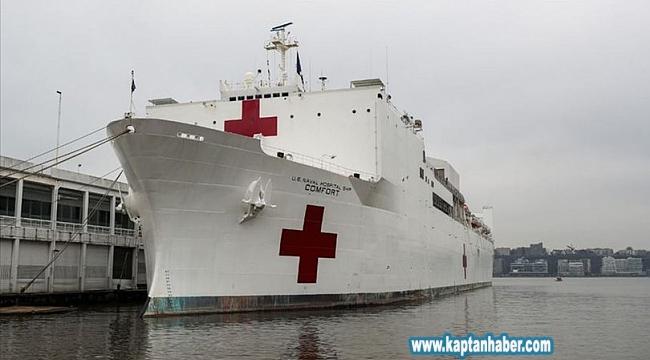 Büyük beklentilerle gönderilen askeri gemi sadece 20 hasta aldı!