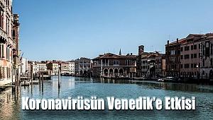 Corona virüsün Venedik'e etkisi uzaydan görüntülendi