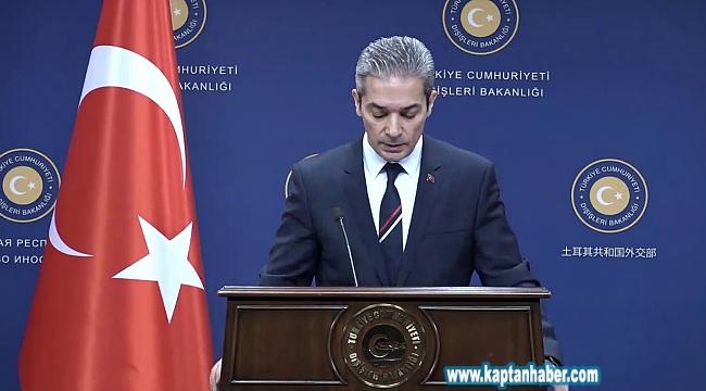 Dışişleri Bakanlığı Sözcüsü Hami Aksoy: