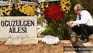 E.Kılavuz Kapt. Saim Oğuzülgen'in Annesi Zincirlikuyu Mezarlığı'nda toprağa verildi