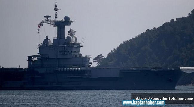 Fransız uçak gemisindeki corona virüs bilançosu belli oldu