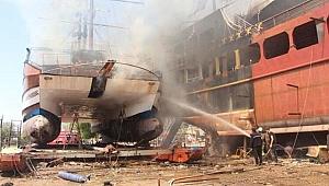Kataraman alev alev yandı, can pazarı yaşandı
