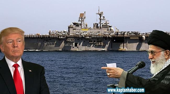 Körfez'de sular ısınıyor: Askeri gemiler karşı karşıya geldi