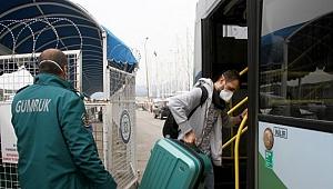 Kuru yük gemisindeki 9 işçi karantinaya alındı