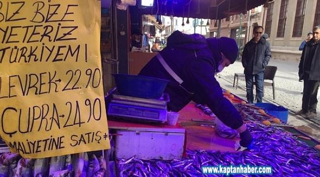 Levrek ve çipurada maliyetine satışa yoğun ilgi