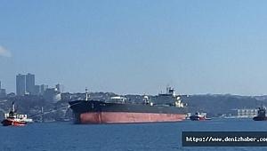 M/T Militos adlı tanker İstanbul Boğazı girişinde arıza yaptı