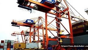 Mersin Limanından transit ticarete destek