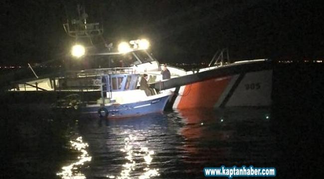 Sahil Güvenlik Komutanlığından deniz patlıcanı operasyonu