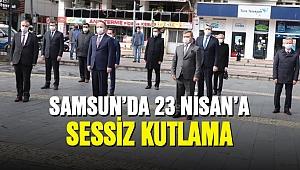 Samsun'da 23 Nisan'a sessiz kutlama