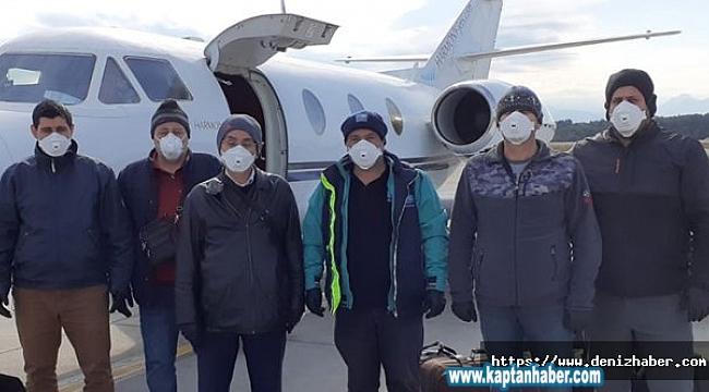 SANMAR, mürettebatı mahsur kalınca özel uçak kiraladı