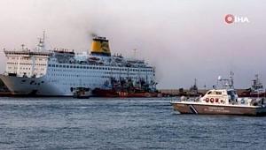 Yunanistan'da karantinada bulunan gemideki 65 Türk, yarın gönderilecek