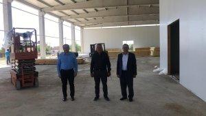 Aydın'da yenilenebilir enerji kaynaklı soğuk hava deposunun inşaatı sürüyor