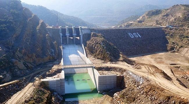 Çine Gökbel Barajı ile 215 bin dekar zirai alan sulanacak