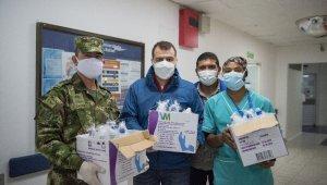 Kolombiya'da Kovid-19 salgını ile mücadeleye destek