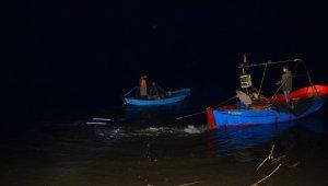 Samsun'da cip denize uçtu