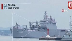 Savunma Sanayii Başkanlığından Amfibi çıkarma gemisi paylaşımı