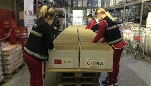TİKA'dan Karadağ'da Gıda ve Hijyen Destek Programı