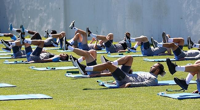 Trabzonspor çalışmalarına devam ediyor