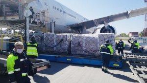Türkiye'den Ukrayna'ya tıbbi malzeme yardımı
