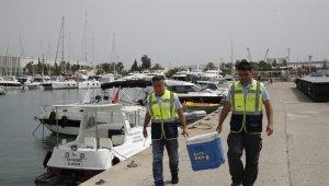 Antalya'da deniz denetimleri aralıksız devam ediyor