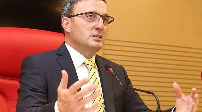Başkan Çakırmelikoğlu: 'Ordu-Giresun Havalimanının kullanım kapasitesinin artırılmasını istiyoruz'