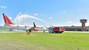 Corendon Airlines tarihinde ilk kez Zonguldak'a indi