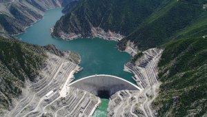 Deriner Barajı yüzde 77 doluluk seviyesine ulaştı