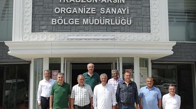 Doğu Karadeniz İhracatçılar Birliği'nden Arsin OSB'ye ziyaret