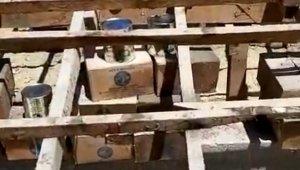 Elazığ'da, ABD'nin 50 yıl önce gönderdiği yağlar, bir okulun çatı katından çıktı