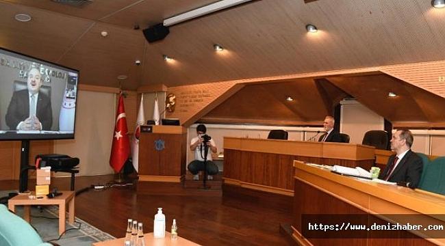 İMEAK DTO Meclis Toplantısı Mustafa Varank'ın Katılımıyla Gerçekeşti!