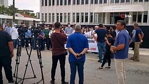 KKTC'de sağlık çalışanlarından Covid-19 eylemi