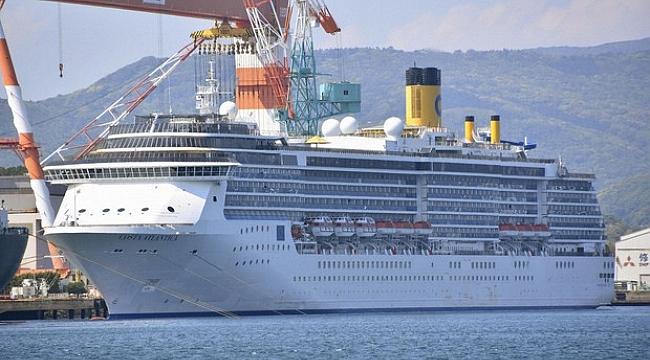 Korona virüs vakaları görülen yolcu gemisi Japonya'dan ayrıldı