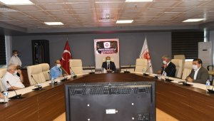 Mermer ihtisas OSB toplantısı yapıldı