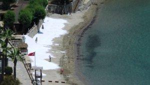 Sahillere beyaz kum operasyonu