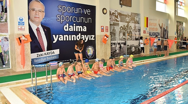 Salihli'de yüzme kursları yeniden başlıyor