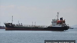 Yağ tankeri Çanakkale açıklarında karaya oturdu